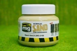 AMMO MIG Beach Sand Acrylic 250ml AMIG2106