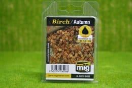 Ammo Mig Birch Autumn Laser cut leaves O scale 1:48 Scale 8406