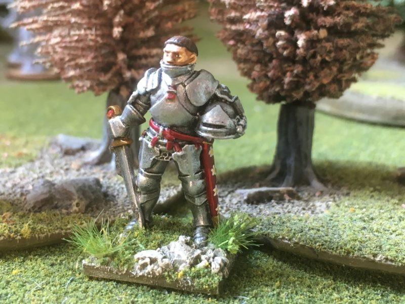 Sir John Savage joins my retinue!