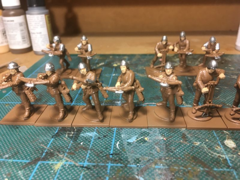 Crossbowmen - plate mail added