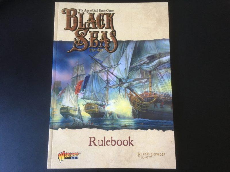 The Black Seas rule book is on my desk!