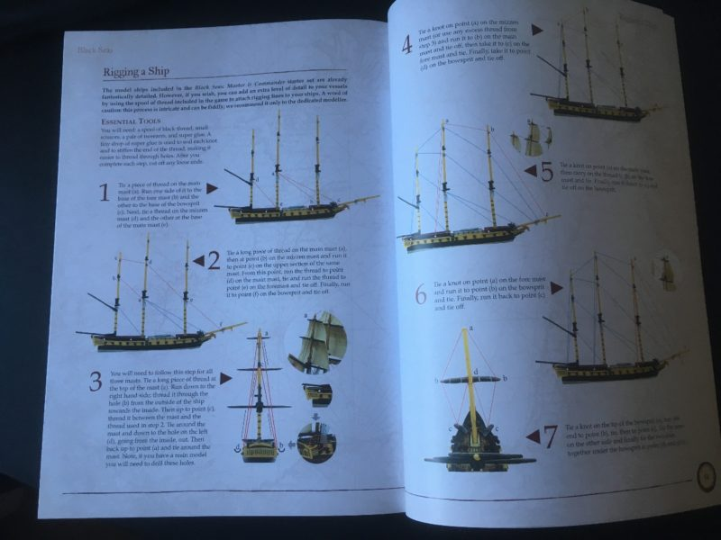 The Ships painting guide
