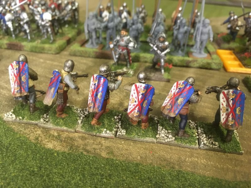 An attackers view of the Crossbowmen!