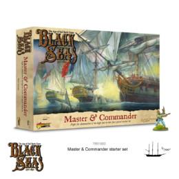 Black Seas Master & Commander Starter Set Warlord Games