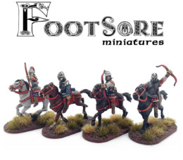 Byzantine Armoured Horse Archers version 2 BYZ101 Footsore Miniatures SAGA Dark Ages