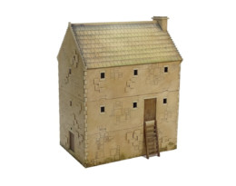 Bastle House Large L022 28mm Building Sarissa Precision