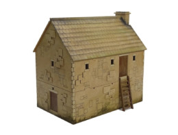 Bastle House Small L023 28mm Building Sarissa Precision
