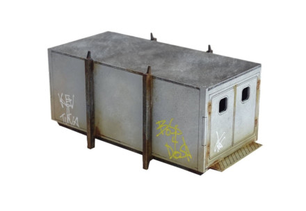 Storage Porta Cabin (28mm) Sarissa Precision Q035