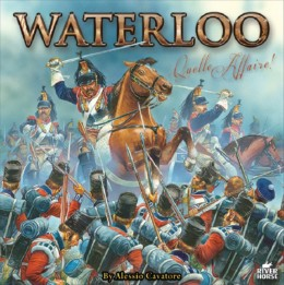 Waterloo Board Game by River Horse