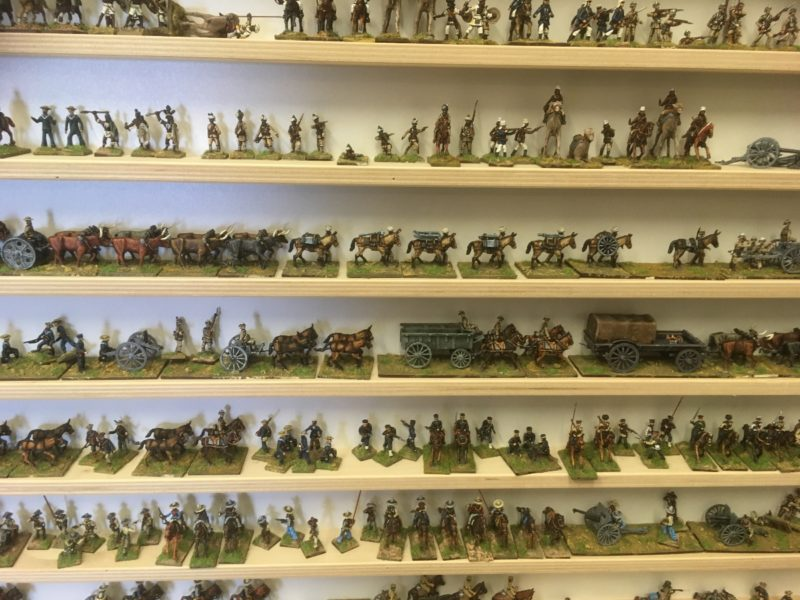 A small sample of the Jacklex miniatures range.
