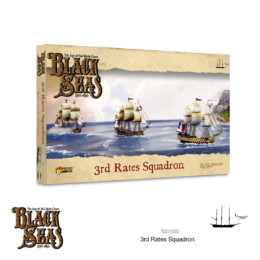Black Seas 3rd Rates Squadron (1770 – 1830) Warlord Games