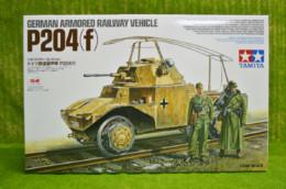 Tamiya German Armoured Railway Vehicle P204 F 1/35 Scale Kit 32413