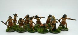CAVEMEN CLAN or TRIBE! DeeZee Miniatures DZ40 28mm Scale Fantasy Wargames & RPG