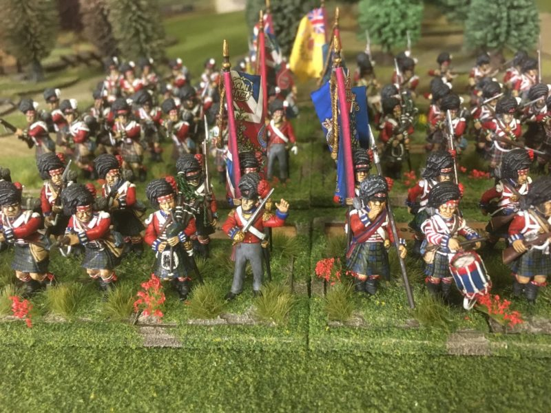 The Black watch completes my Highland contingent at Waterloo.