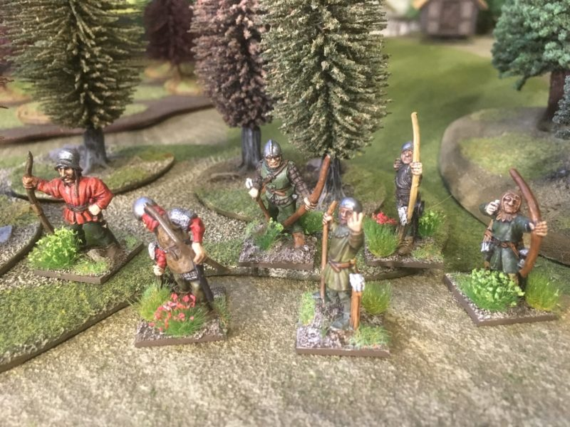 one unit of Skirmishing Archers