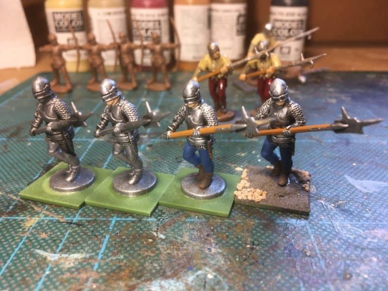 Armoured Billmen