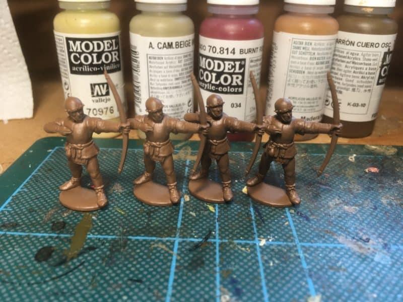 English Archers Ready!