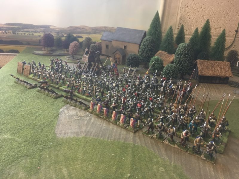 Another view of the Retinue