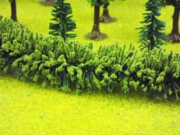 Jordan LARGE GREEN HEDGE HO/OO or Wargames Scenery 50 cms long Nr.13B