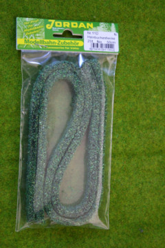 Jordan FLEXIBLE GREEN HEDGE N gauge or Wargames Scenery 50 cms long Nr.11D