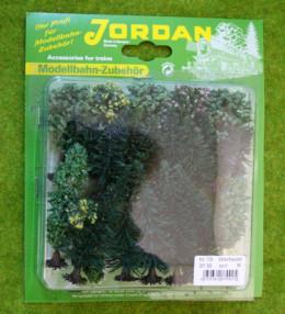 Jordan Pack of 25 MIXED TREES Wargames Scenery N gauge Nr.7B 59542