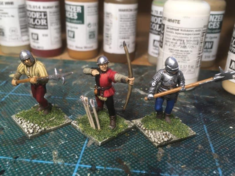 Billmen and Bowmen for new units!