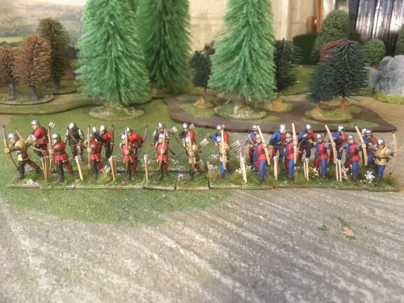 The 'red faction' of my retinue!