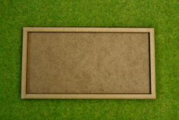 MDF laser cut MOVEMENT TRAY (8×4) 20mm Infantry Bases