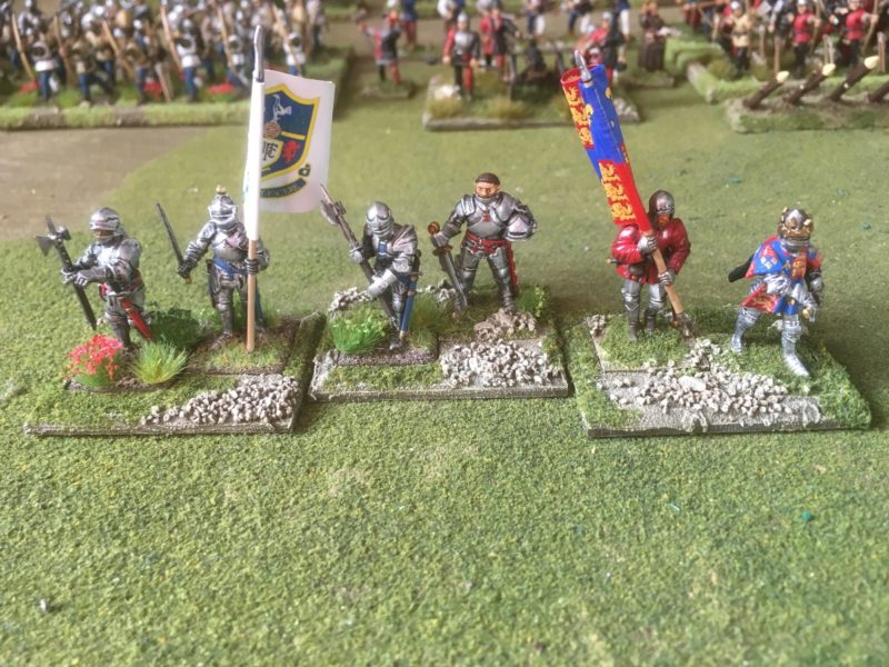The completed command bases