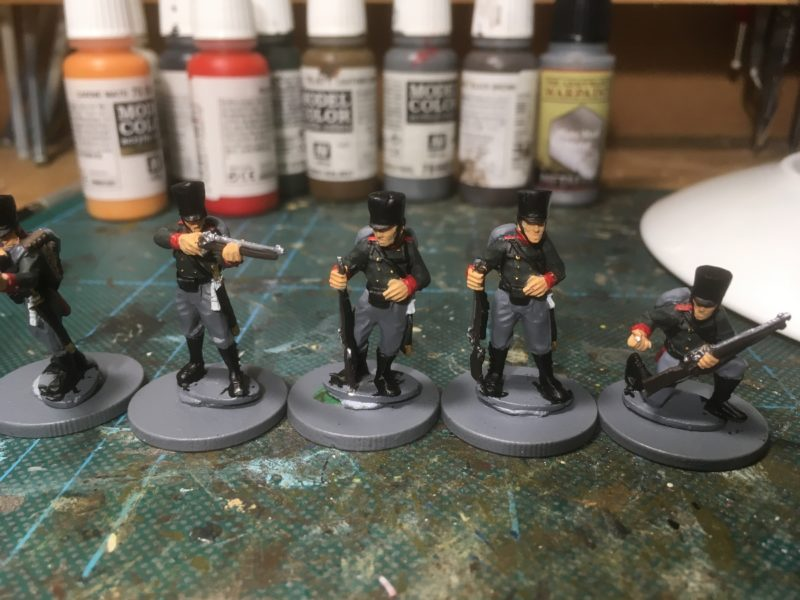 Prussian Jaegers - detail added