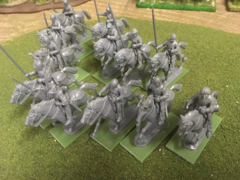 Perry Light Cavalry assembled