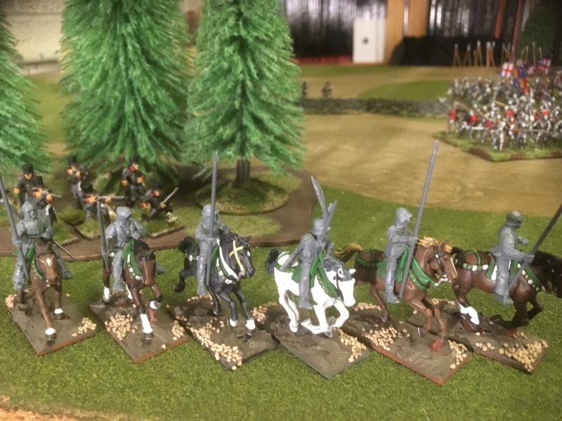 Six Light Cavalry Horses ready for basing.