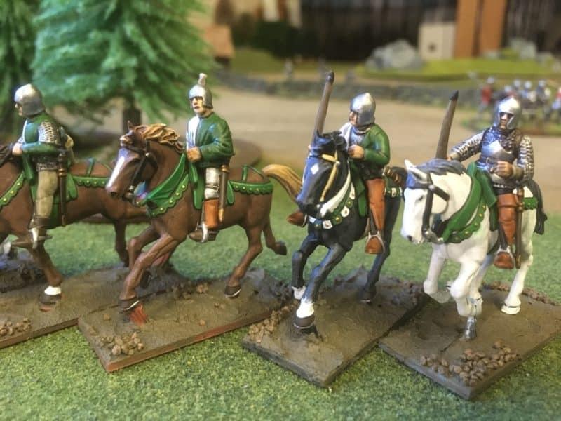 Close up of Light cavalry