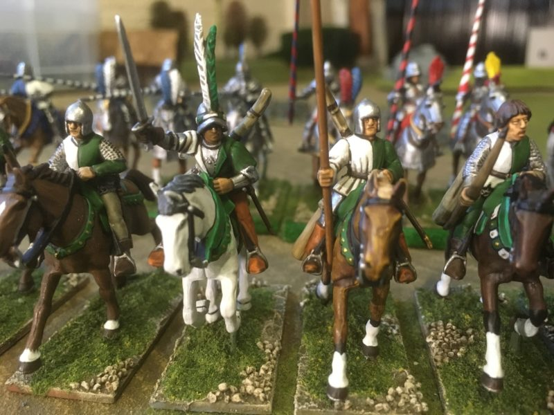 Close up of the unit - I have since been back and added some detail to the Commanders face.