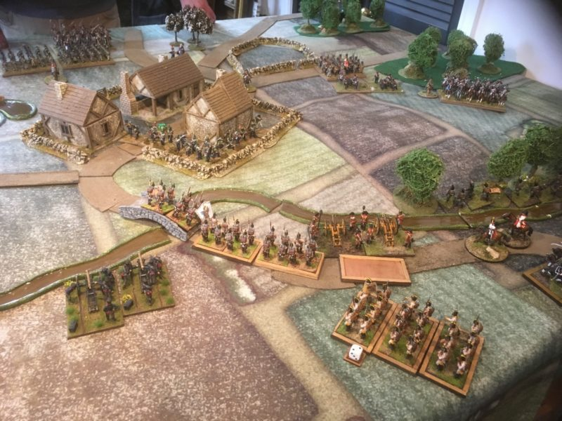 The Austrians attempt to pound the Village into submission!