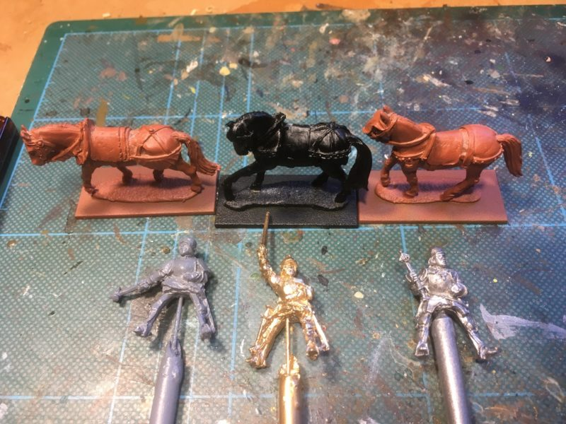 The next batch of figures primed and ready to paint.