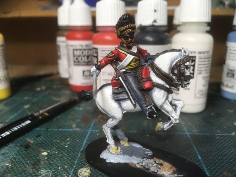 Sgt Ewart - a bit more detailing