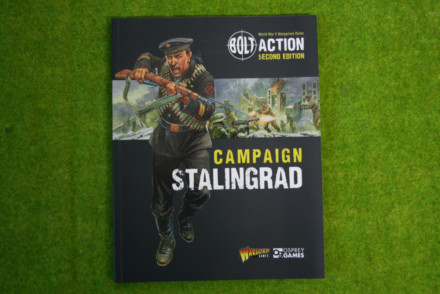 Stalingrad Campaign Book Bolt Action Warlord Games 28mm