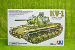 Tamiya RUSSIAN KV1 MODEL 1941 EARLY 1/35 Scale Kit 35372