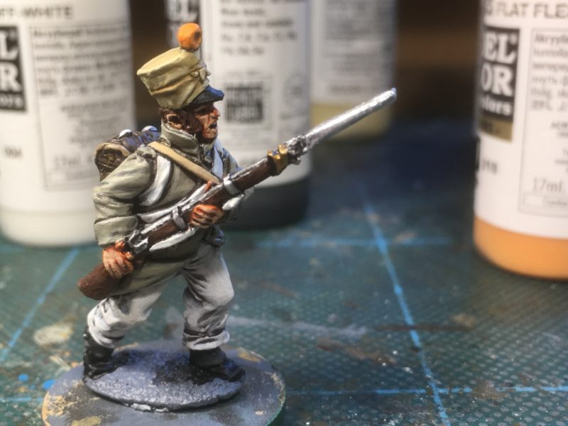 French infantry man