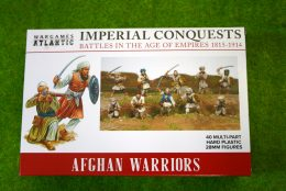 AFGHAN WARRIORS Imperial Conquests Wargames Atlantic Plastic Boxed Set