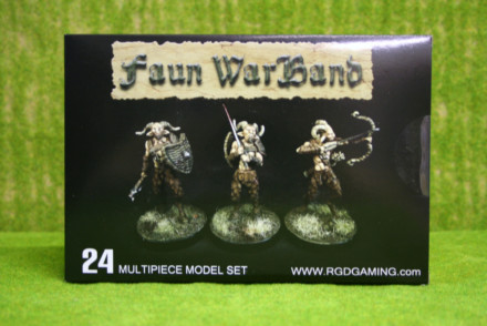 FAUN WARBAND RGDGAMING Plastic Boxed Set