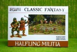 HALFLING MILITIA Wargames Atlantic Plastic Boxed Set