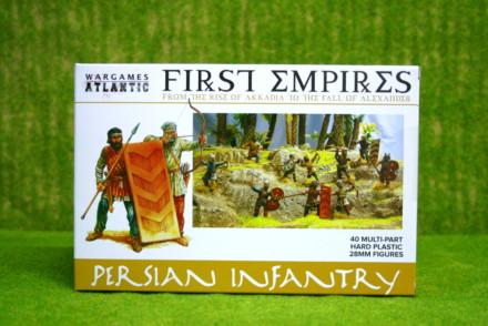 PERSIAN INFANTRY Wargames Atlantic Plastic Boxed Set