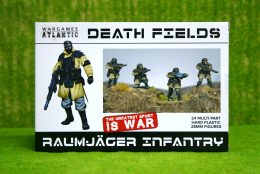 RAUMJAGER INFANTRY Wargames Atlantic Plastic Boxed Set