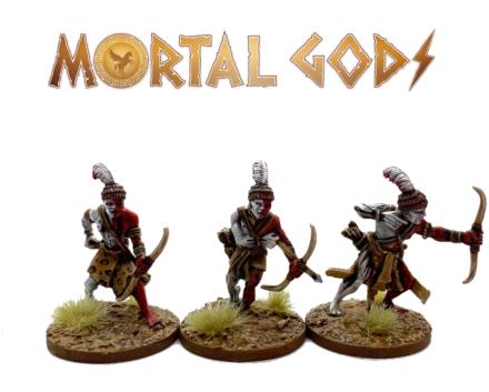 MORTAL GODS Kushite Archers MG064 (metal) 28mm