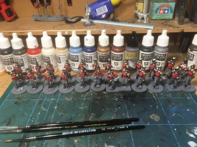 Batch Paint in progress