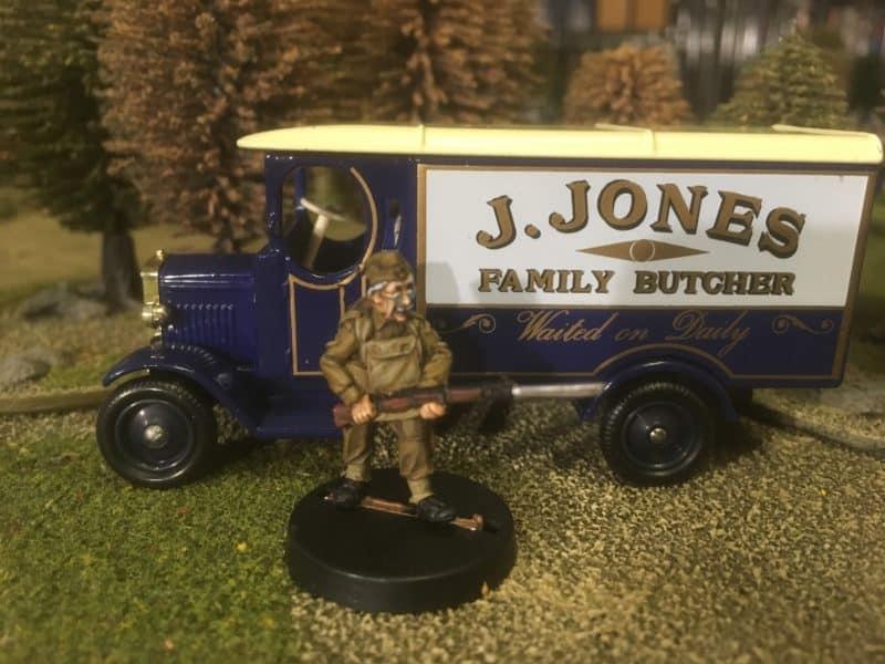 Jack Jones and his Van!