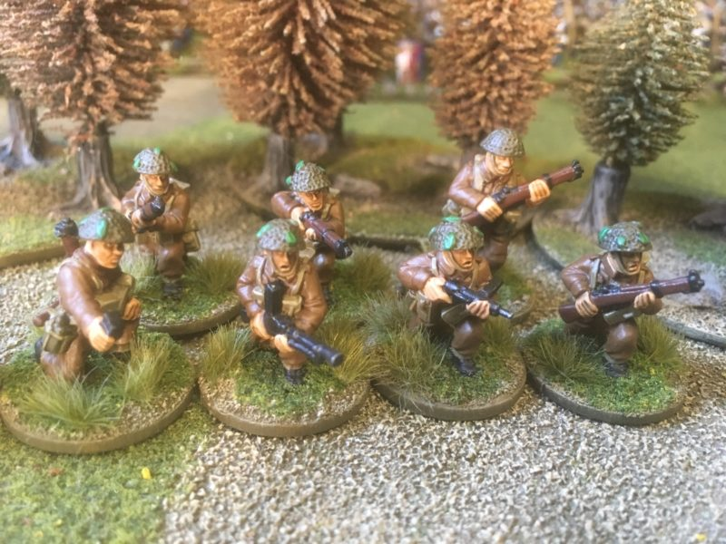 The finished section of Artizan Infantry