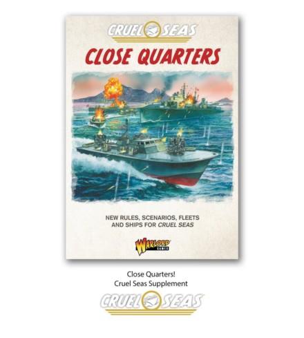 CRUEL SEAS Close Quarters! Cruel Seas supplement book Warlord Games